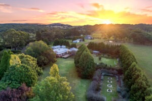 mittagong-real-estate-photography-sunset-aerial-drone