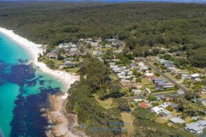 hyams-beach-aerial-drone-photography-sunrise