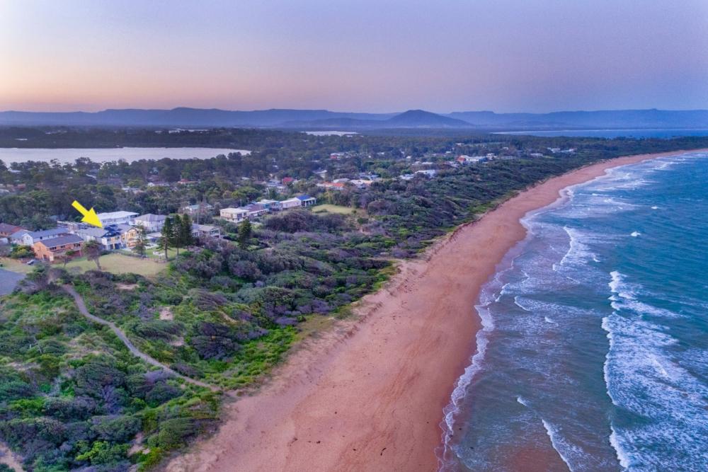 culburra_beach_aerial_dusk_photography
