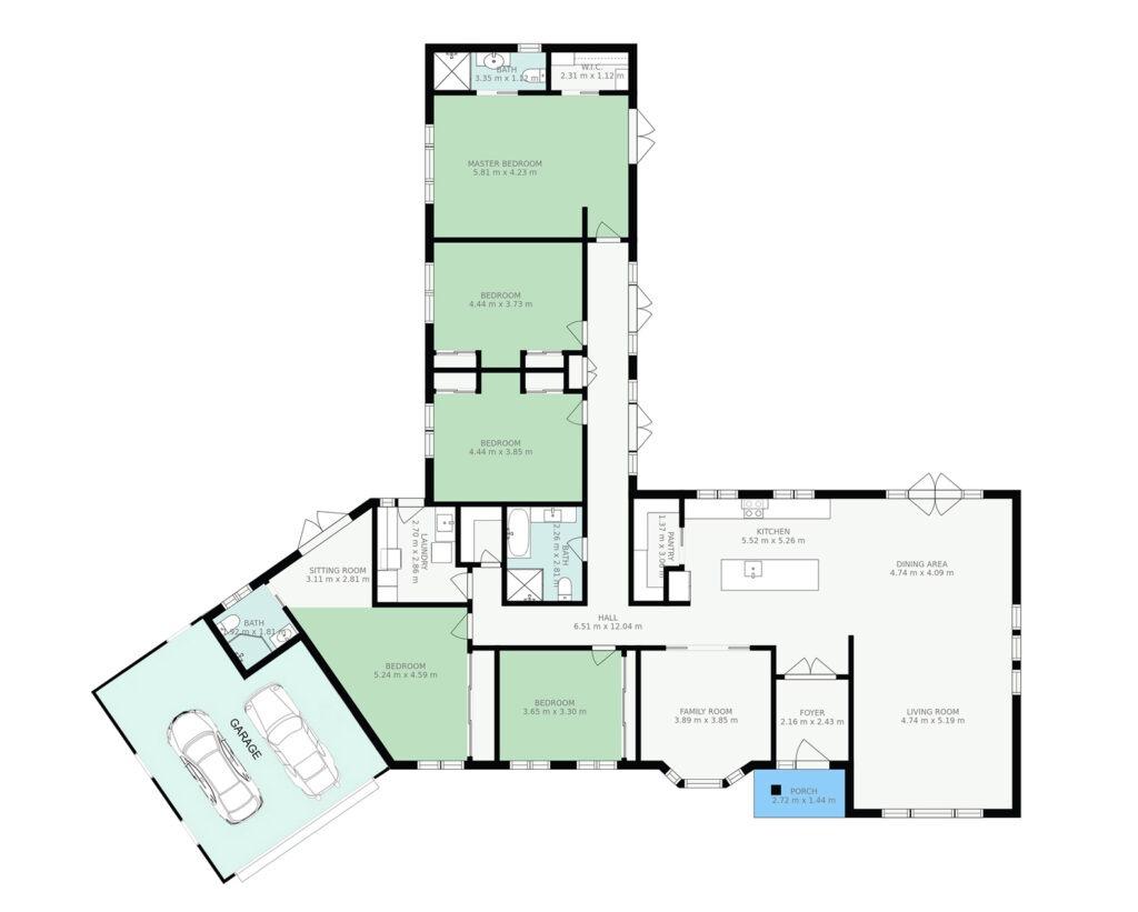 Berry Floor Plans